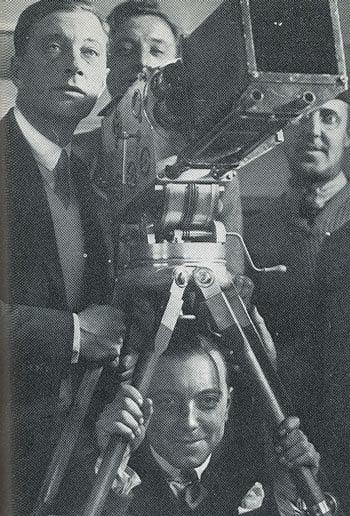 Marcel Carné et Jacques Feyder (1928)