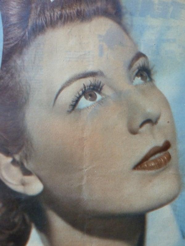 Marie Déa (Cinémonde - Pâques 1940)