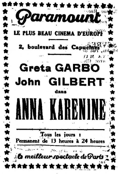 La Semaine à Paris du 11 janvier 1929