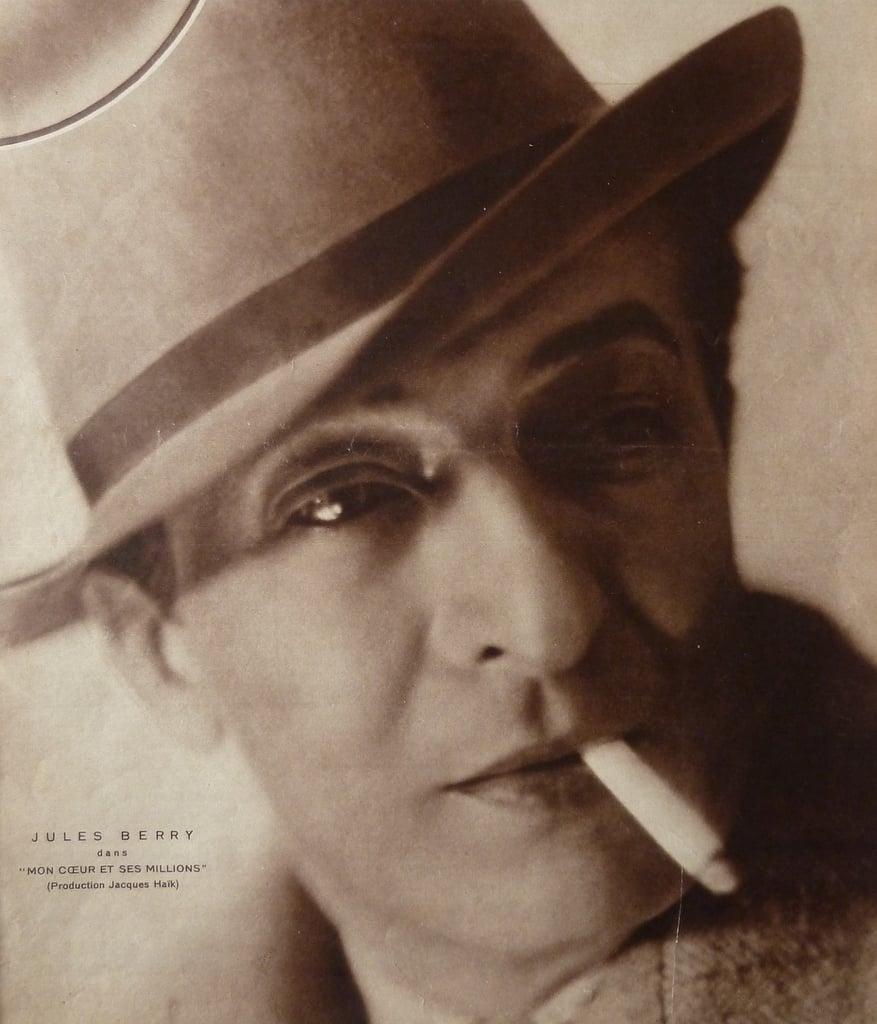 Portrait de Jules Berry dans Cinémonde (1931)
