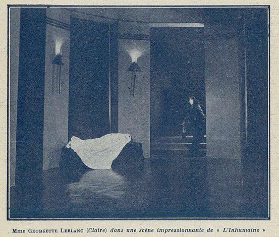 L'Inhumaine (Cinemagazine 01.08.1924)