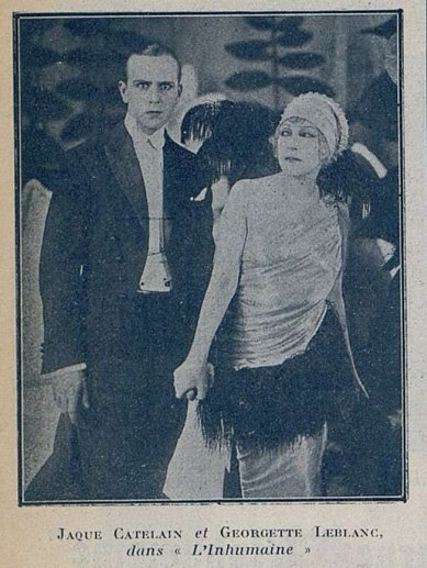 L'Inhumaine (Cinémagazine 9.11.1923)