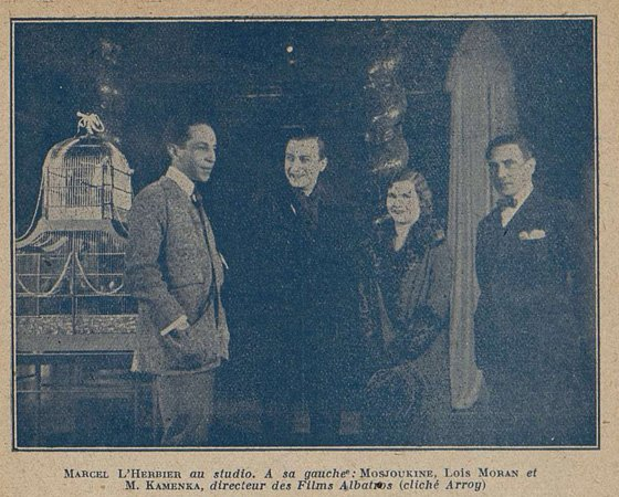 Marcel L'Herbier (Cinémagazine 02.01.1925)