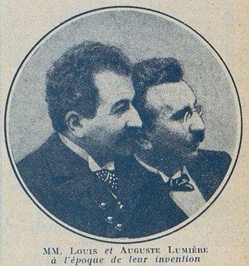 photographie des frères Lumière (Cinémagazine 1924)