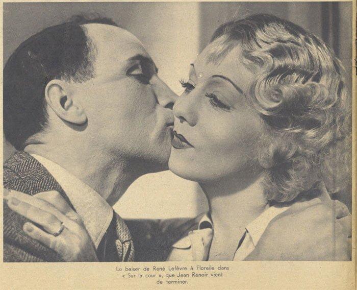 René Lefèvre et Florelle dans Le Crime de Monsieur Lange (Pour Vous 1935)
