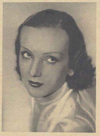 Mireille Balin en 1935 (Pour Vous)