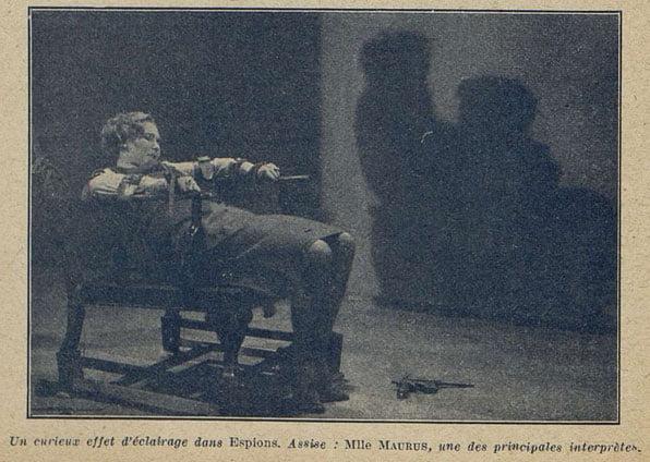 Mlle Maurus dans Les Espions de Fritz Lang