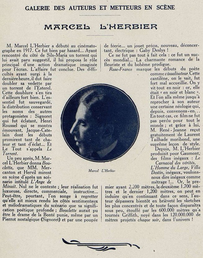 Cinémagazine 21.01.1921