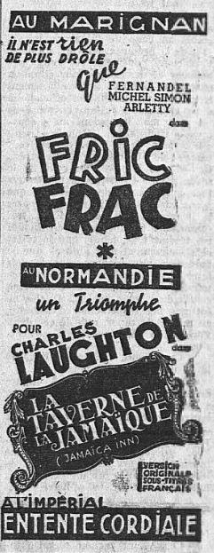 l'Intransigeant du 22 août 1939