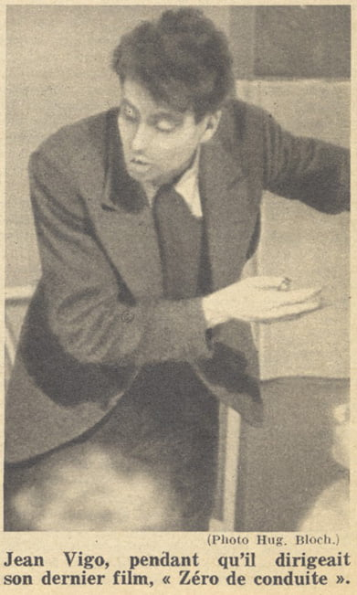 Jean Vigo (Pour Vous 16.02.1933)