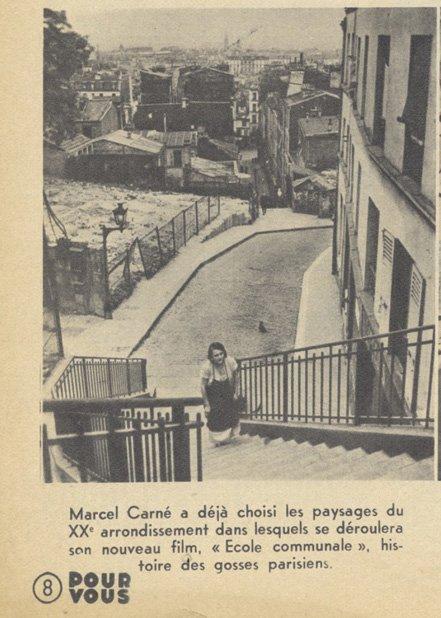 Ecole Communale (Pour Vous 06.09.1939)