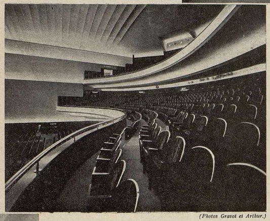 La Corbeille : les spacieux fauteuils Gallay du Gaumont-Palace