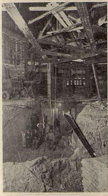 Un chantier du sous-sol du Gaumont-Palace