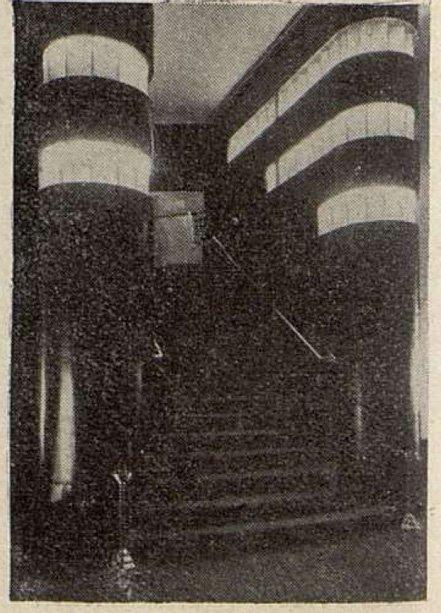 Un escalier de la corbeille du Gaumont-Palace
