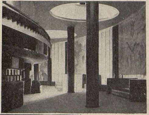 Le foyer de la Corbeille du Gaumont-Palace