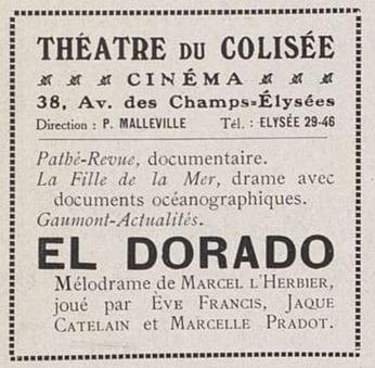 El Dorado au Colisée