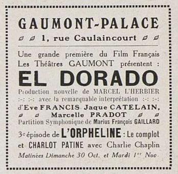 El Dorado au Gaumont-Palace