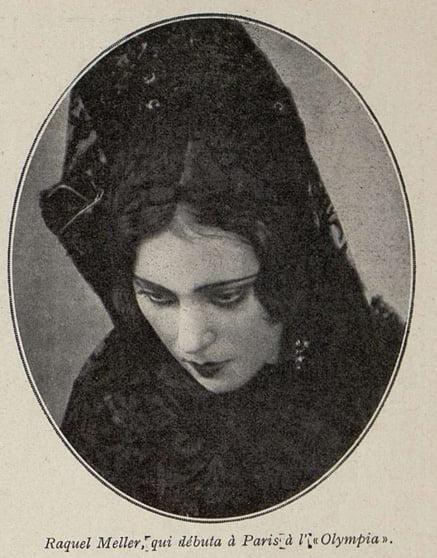 Raquel Meller à l'Olympia (Cinémagazine 1930)