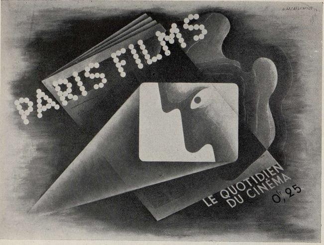 Une Affiche de Cassandre (Cinémagazine août 1933)