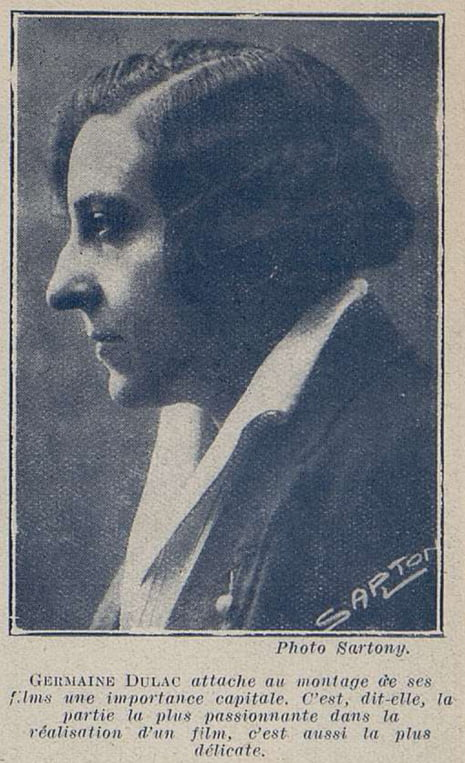 Germaine Dulac (Cinémagazine 1927)