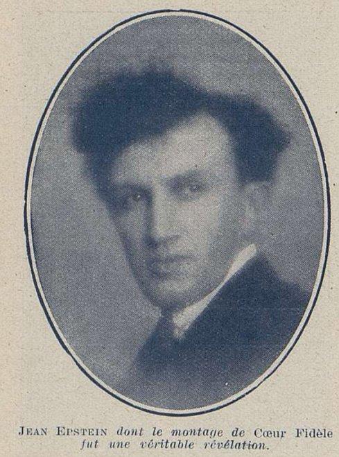 Jean Epstein (Cinémagazine 1927)