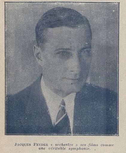 Jacques Feyder (Cinémagazine 1927)