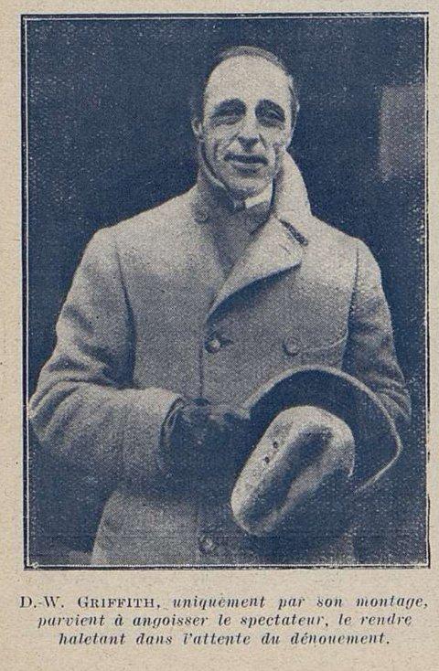 D.W Griffith (Cinémagazine 1927)