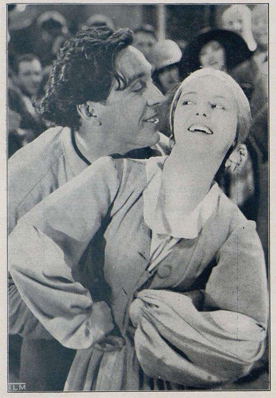 Janet Gaynor dans l'Aurore (Cinémagazine 1928)