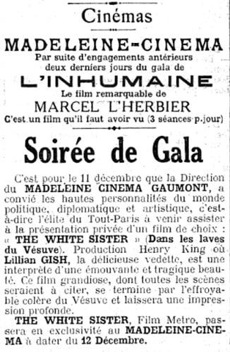 Le Figaro (09 décembre 1924)