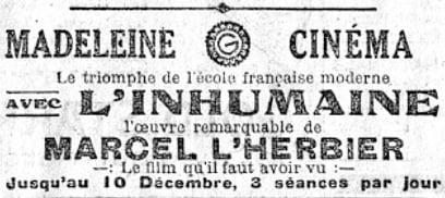 Le Temps (10 décembre 1924)