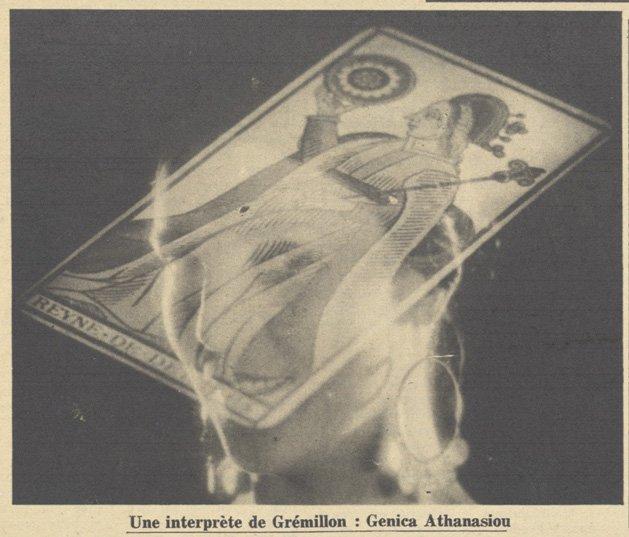 Genica Athanasiou dans Gardiens de phare de Jean Gremillon