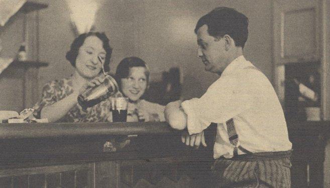 Orane Demazis et Marcel Pagnol (Pour Vous 1931)