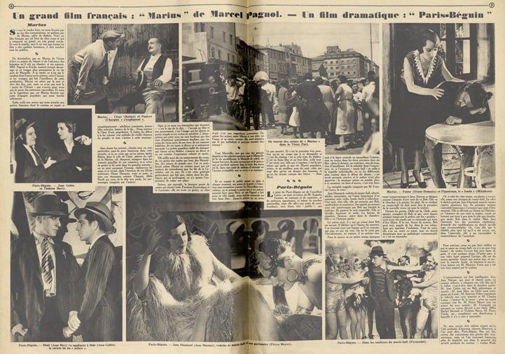 Critique de Marius dans Pour Vous (1931)
