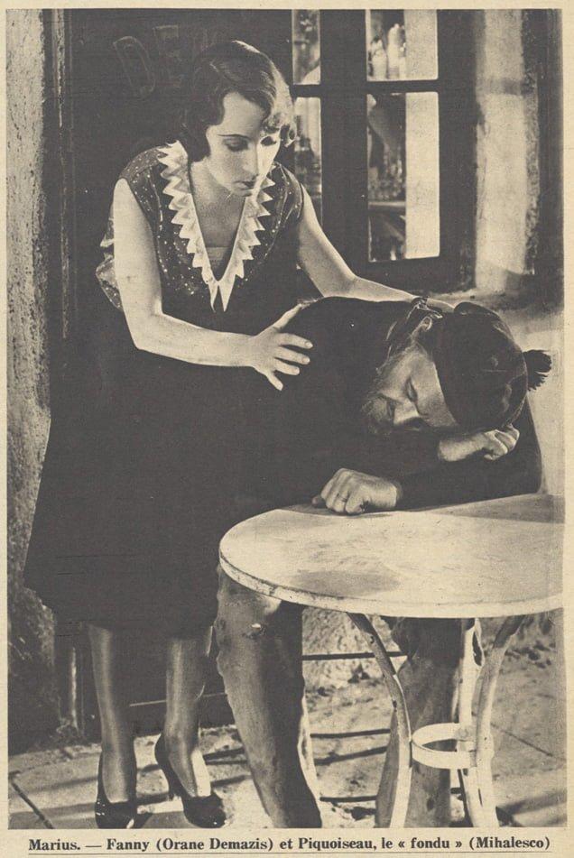Orane Demazis et Alexandre Mihalesco (Pour Vous 1931)