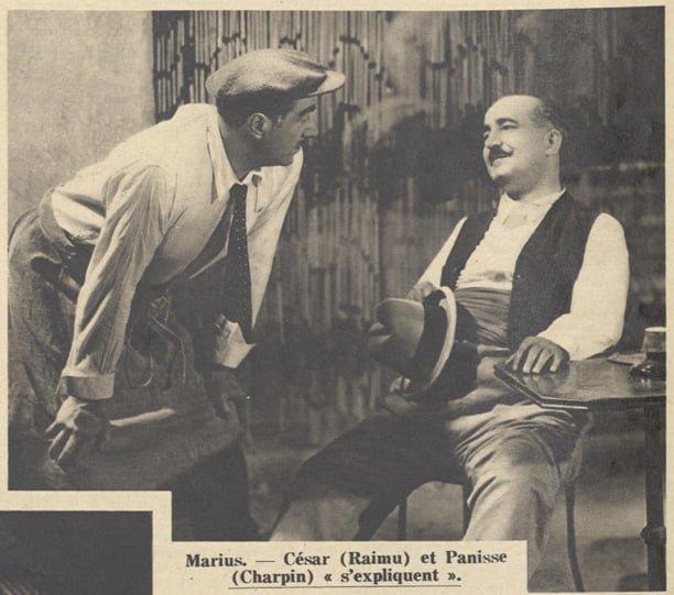 Raimu et Charpin (Pour Vous 1931)