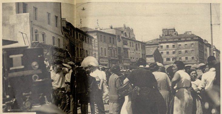 Tournage de Marius (Pour Vous 1931)