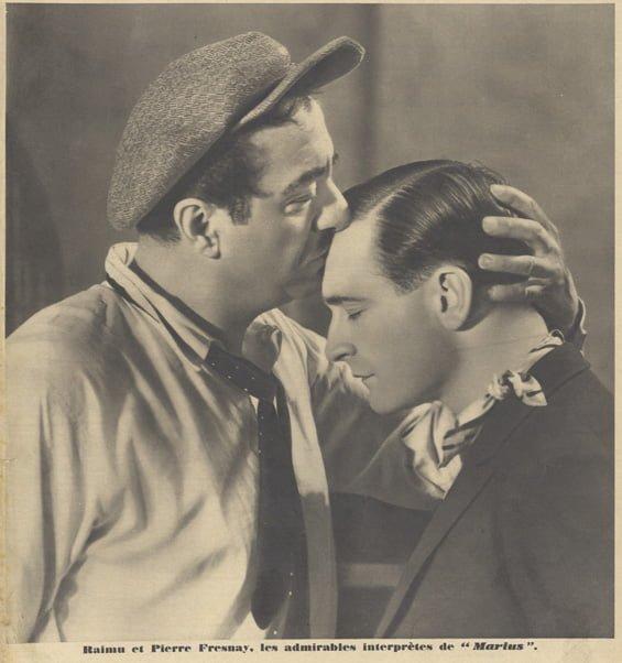 Raimu et Pierre Fresnay (Pour Vous 1931)
