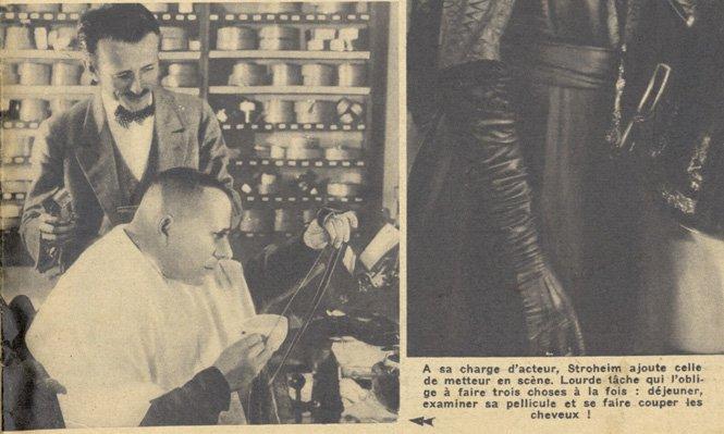 Eric von Stroheim (Pour Vous 1935)