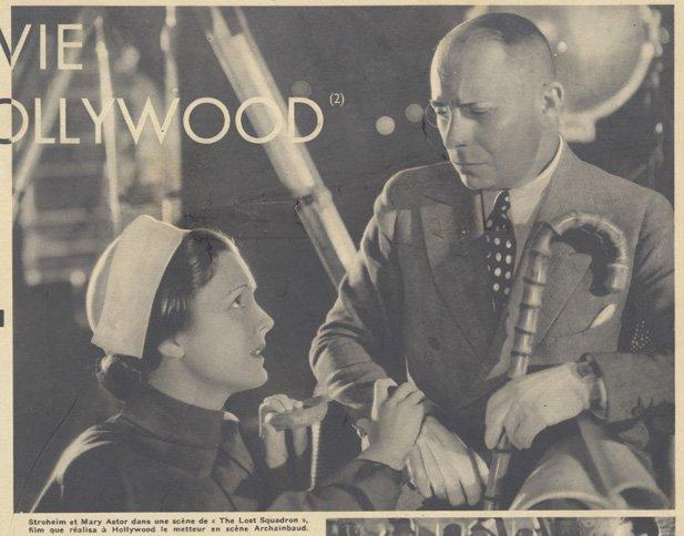 Eric von Stroheim et Mary Astor (Pour Vous 1935)