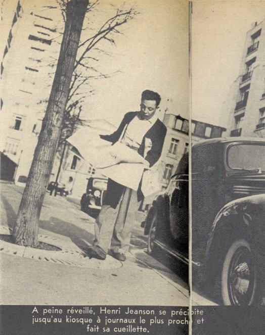 Henri Jeanson dans pour Vous en 1939