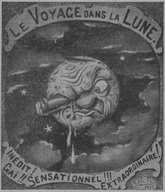 l'affiche du Voyage dans la Lune (Ce Soir 1937)