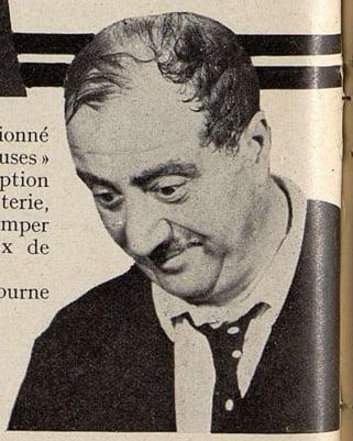Raimu dans Fanny (Cinémagazine 1932)