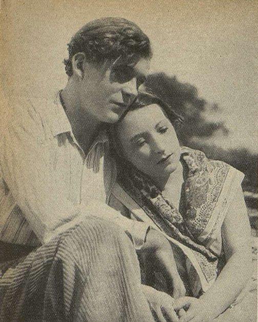 Jean Servais et Orane Demazis dans Angèle (Cinémagazine 1934)