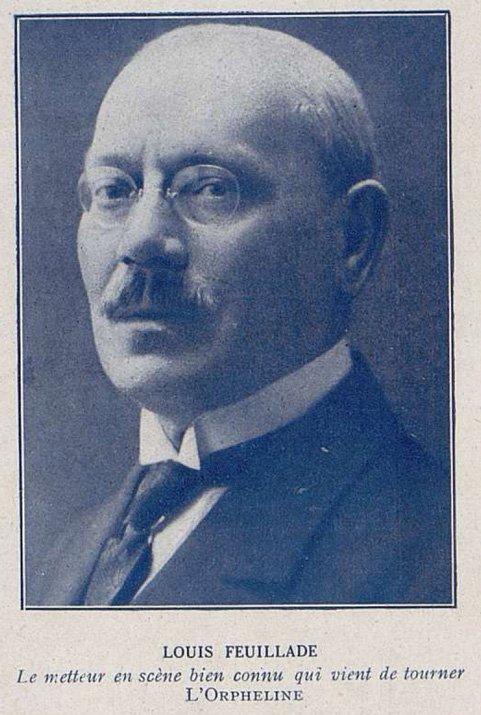 Portrait de Louis Feuillade (Cinémagazine 1921)