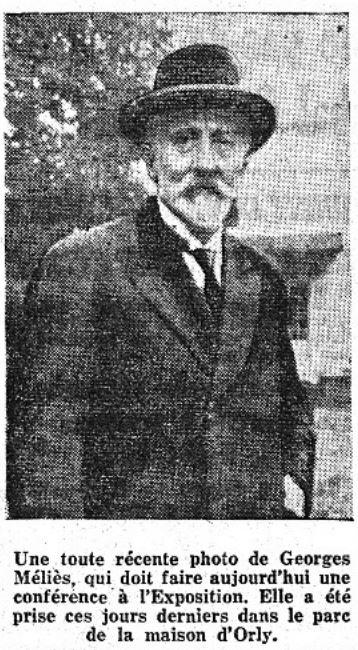 Georges Méliès (Le Figaro 1937)