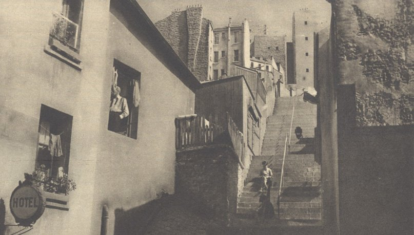 Le décor de Quatorze Juillet (Pour Vous 1932)