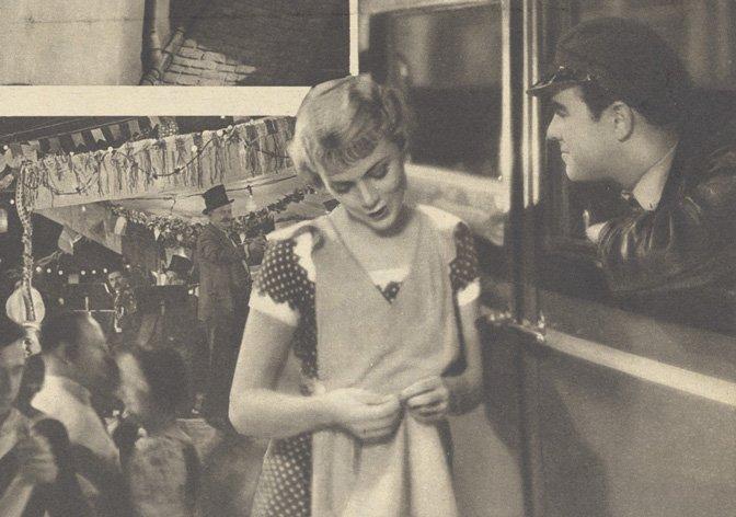 Annabella et Georges Rigaud dans 14 Juillet (Pour Vous 1932)