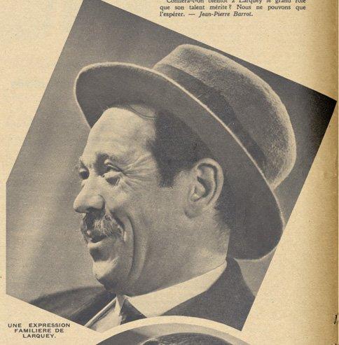 Pierre Larquey (Pour Vous 1937)
