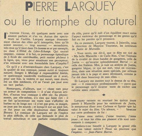 Pierre Larquey (Pour Vous 1934)