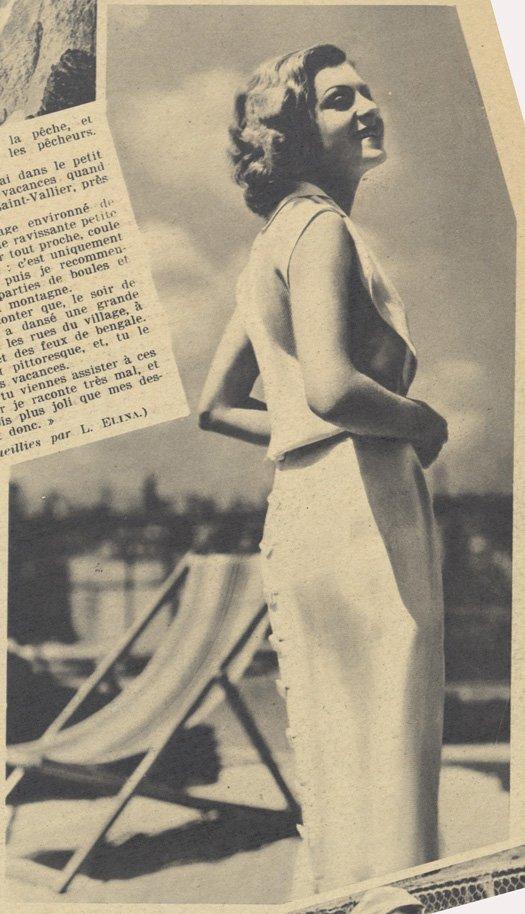 Lisette Lanvin (Pour Vous 1936)